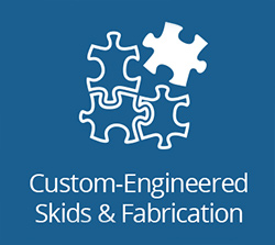 Custom-Engineered Skids & Fabrication