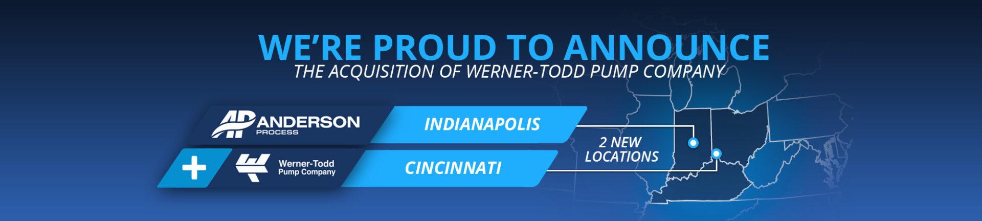 Anderson Process acquires Werner-Todd Pump Company