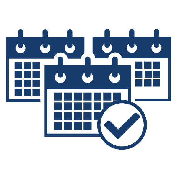 Keep tight schedules on track to hit your production start date.