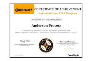 Contitech star distributor certificate featured image anderson process contitech star distributor certificate featured image altavistaventures Choice Image