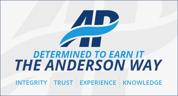 Determined to Earn It - The Anderson Way