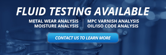 Fluid Testing Available