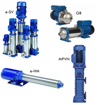 Multistage End-Suction Pumps