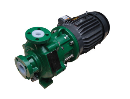 K Plus (K+) Series - Sealless Magnetic Drive Plastic Lined Pump