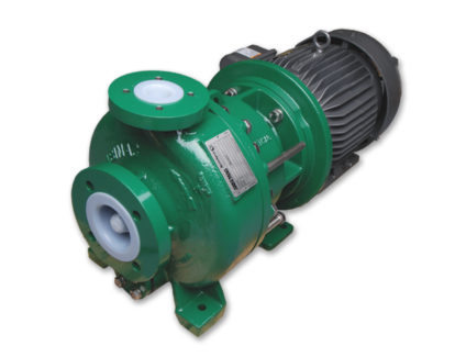 KF Series - Sealless Magnetic Drive Plastic Lined Pump