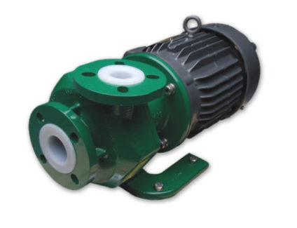 KMLF Series - Low Flow Sealless Magnetic Drive Plastic Lined Pumps