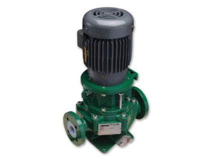 KV Series - Vertical Sealless Magnetic Drive Plastic Lined Pump