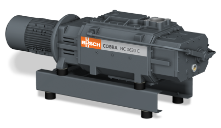 Dry Screw Vacuum Pumps (COBRA Industry)