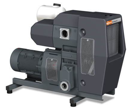 Huckepack Two-Stage Oil-Lubricated Rotary Vane Vacuum Pump