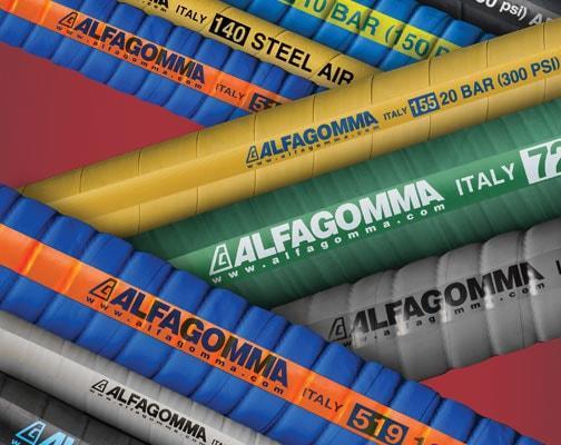 Alfagomma® Industrial Rubber Hose