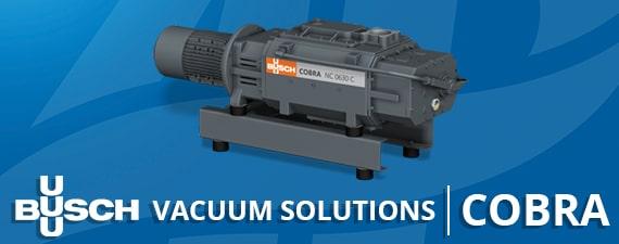 COBRA Vacuum Pumps