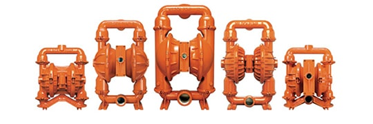 Air-Operated Diaphragm (AOD) Pumps - Top Brands