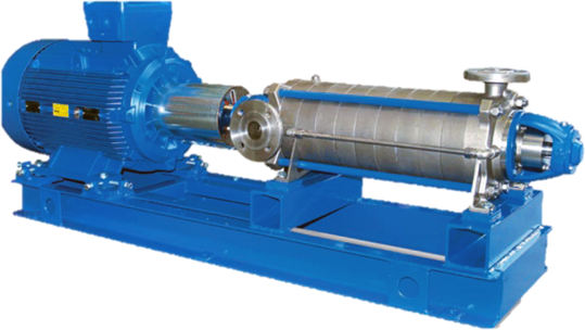 T-JET Multi-Stage Centrifugal Pumps