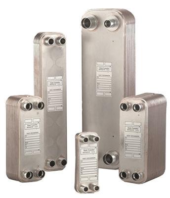 Brazed Plate Heat Exchangers (BrazePak Series)