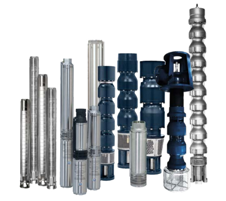 Submersible Pumps & Vertical Lineshaft Turbines