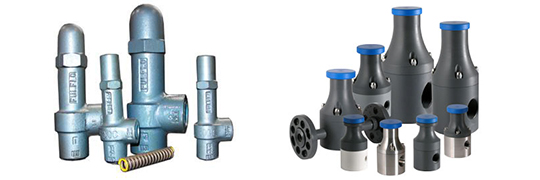Relief Valves - Top Brands