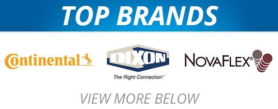 Hose & Fittings - Top Brands