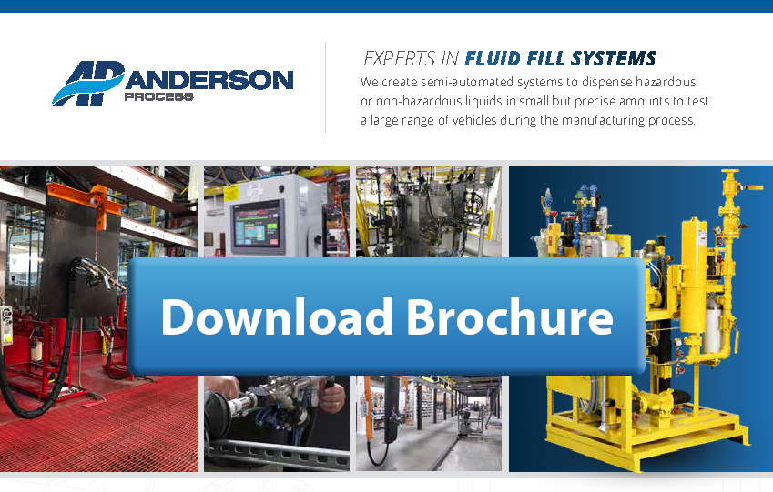Fluid Fill Systems by Anderson Process