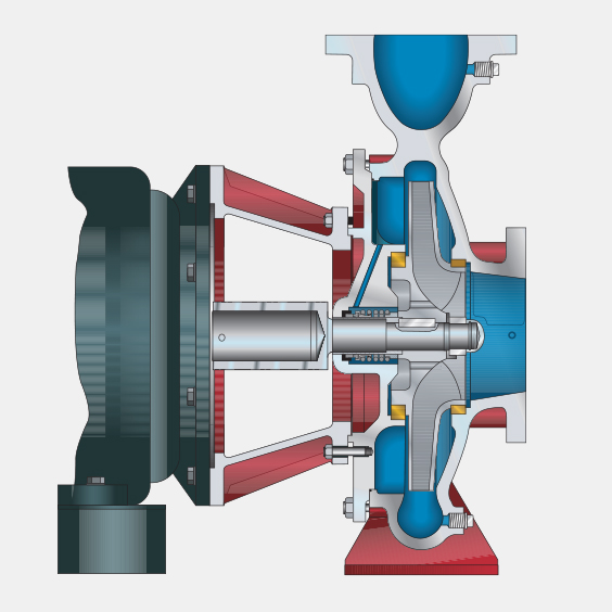 300 and 310 Series End Suction Pumps