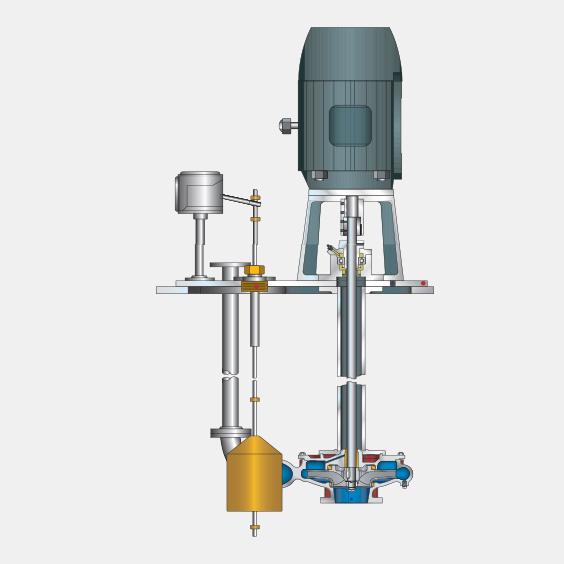 320 Series SREM Vertical Sump Pumps
