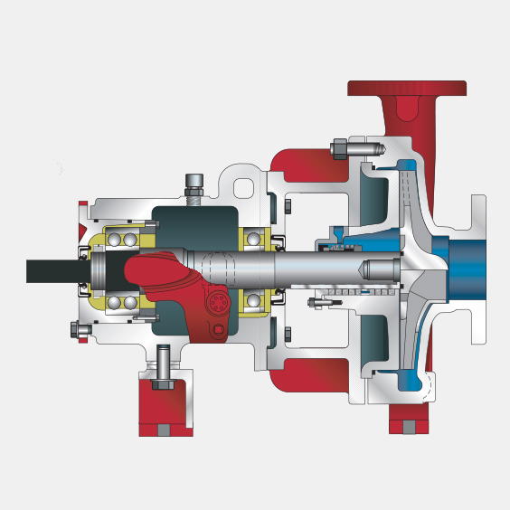 460 Series OSD ANSI B73.1 End Suction Pumps