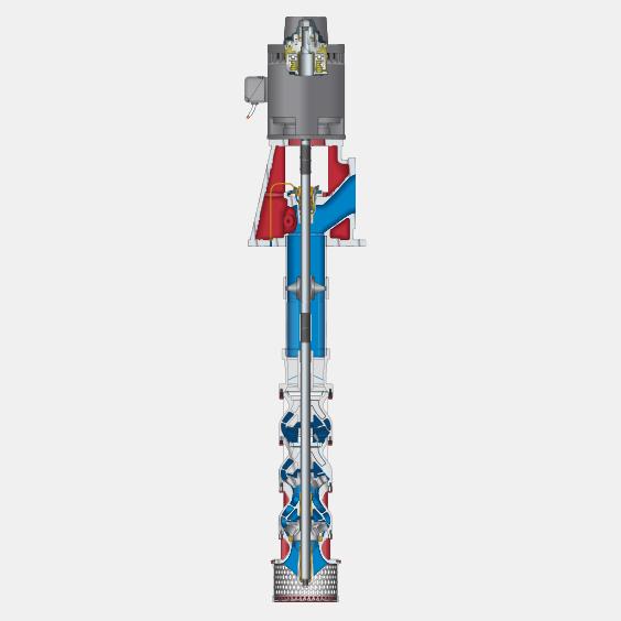 480 Series VT Open Lineshaft Vertical Turbine Pumps