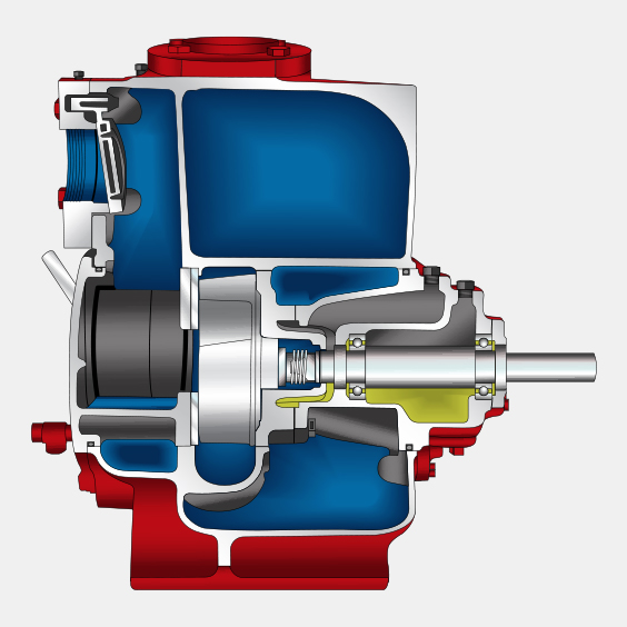 490 Series SST Heavy Solids Handling Self Primer Pumps