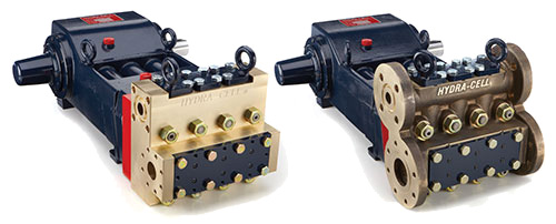 Hydra-Cell T & Q Series Sealess Pumps